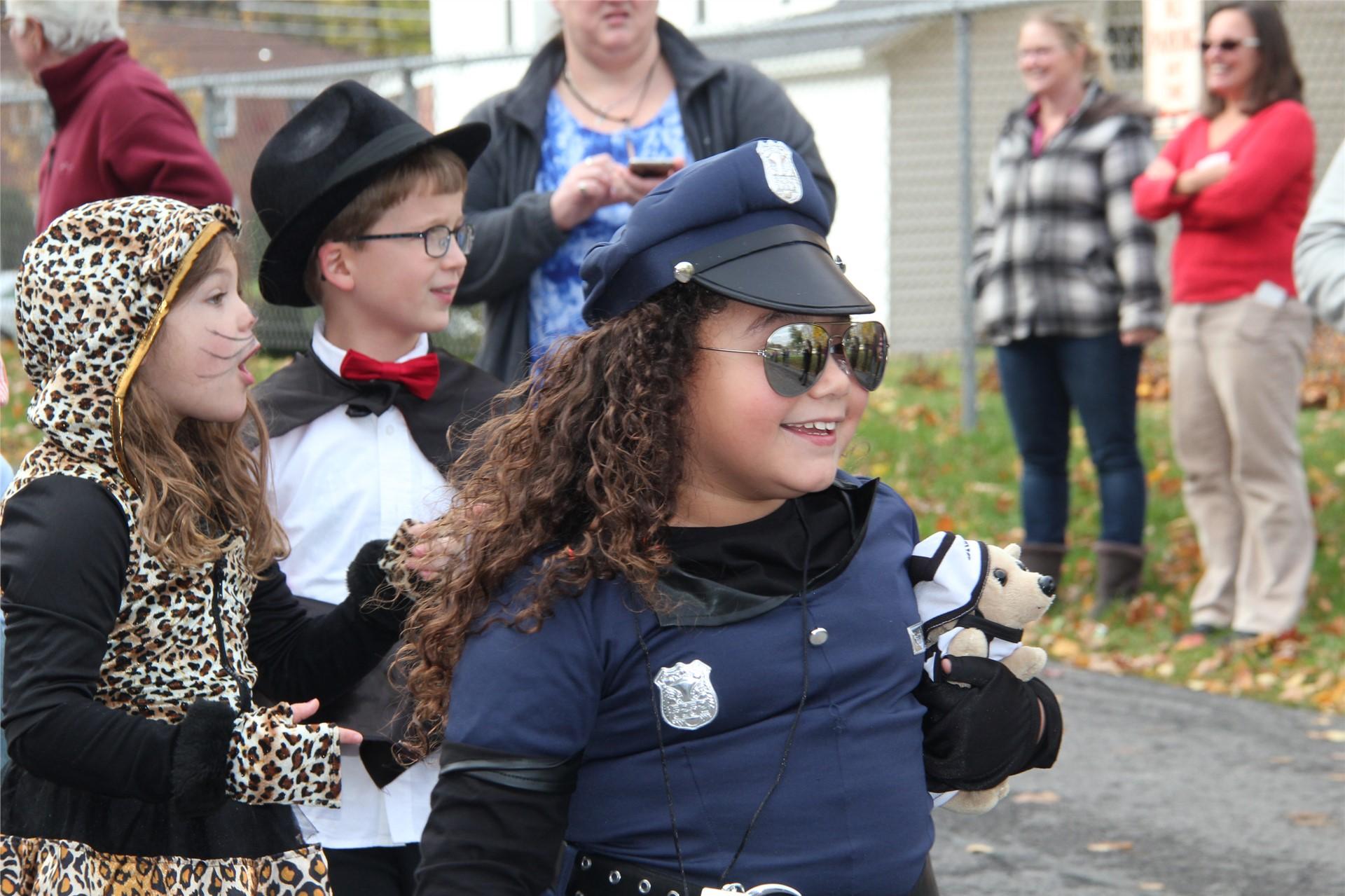 Port Dickinson Elementary Halloween Parade 146