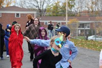 Port Dickinson Elementary Halloween Parade 147