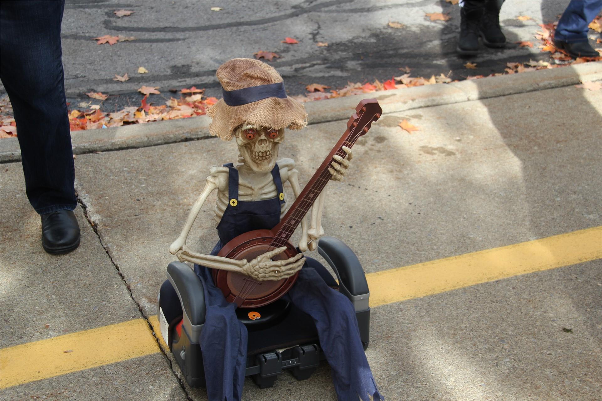 Port Dickinson Elementary Halloween Parade 150