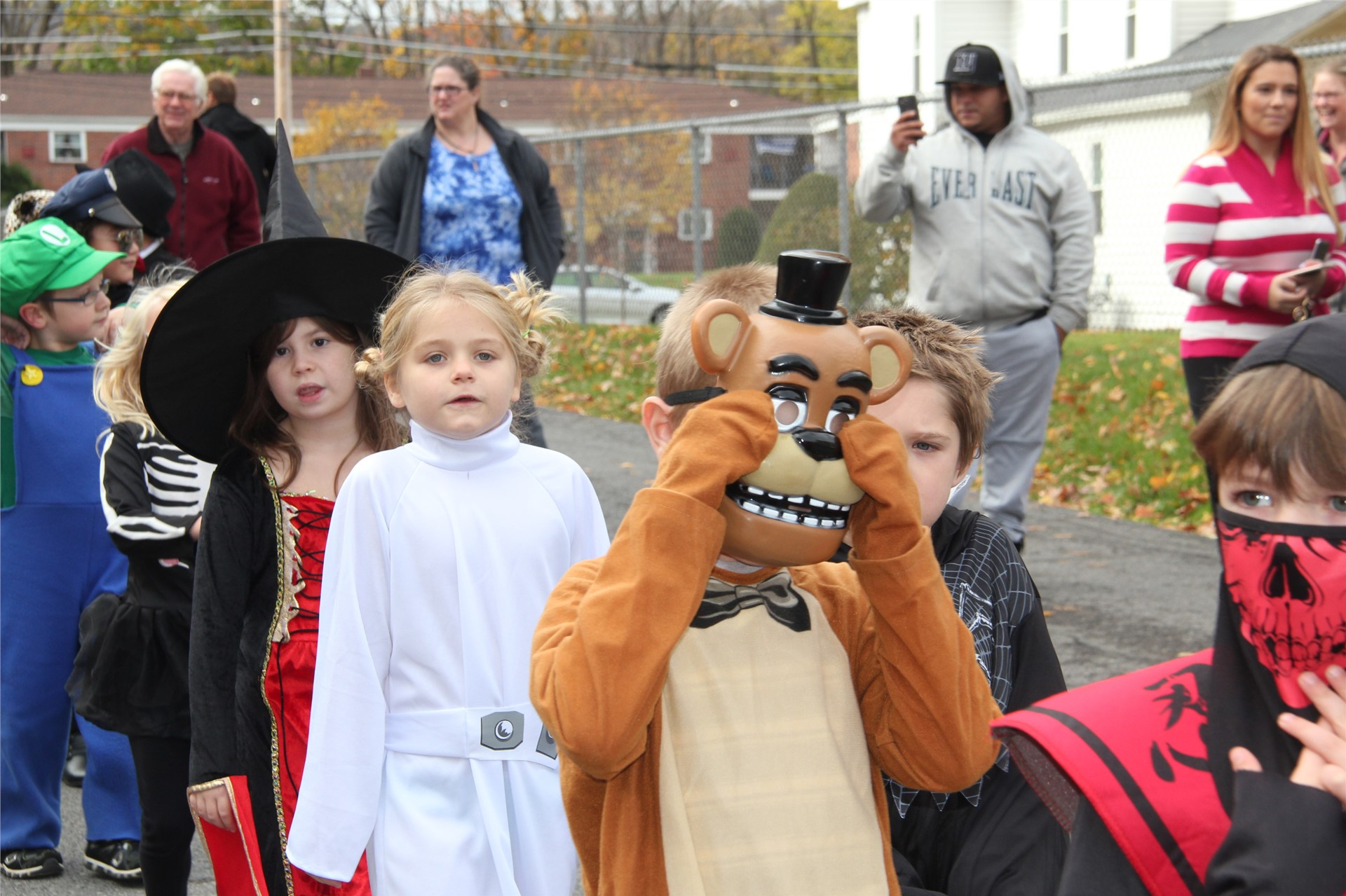 Port Dickinson Elementary Halloween Parade 143