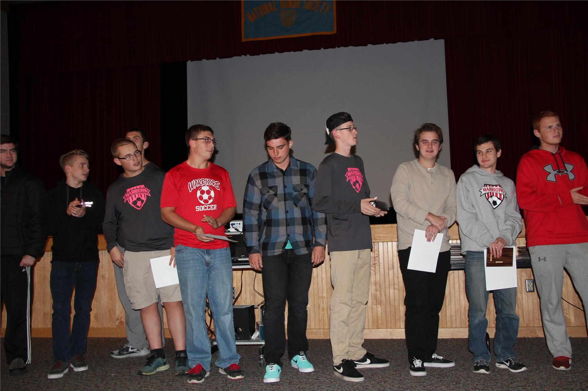 Fall Sports Award 18