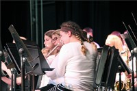 additional students playing instruments