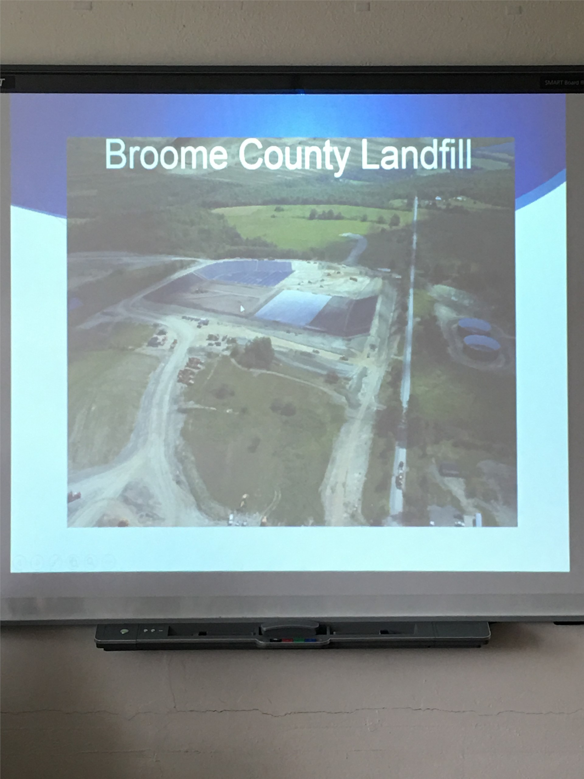 powerpoint about broome county landfill 1