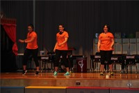 teachers dance on stage in talent show 4