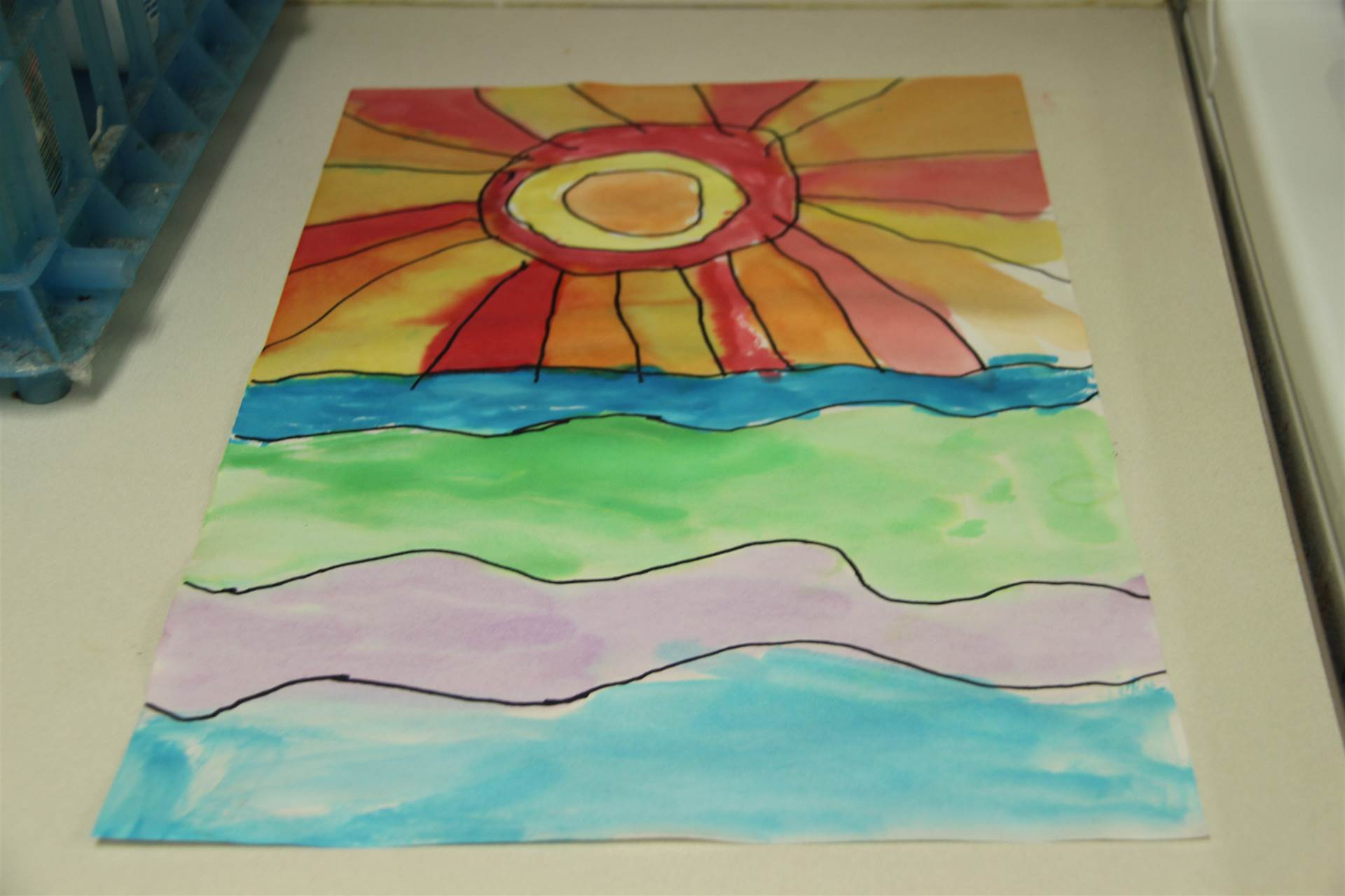 painting from c v summer steam program