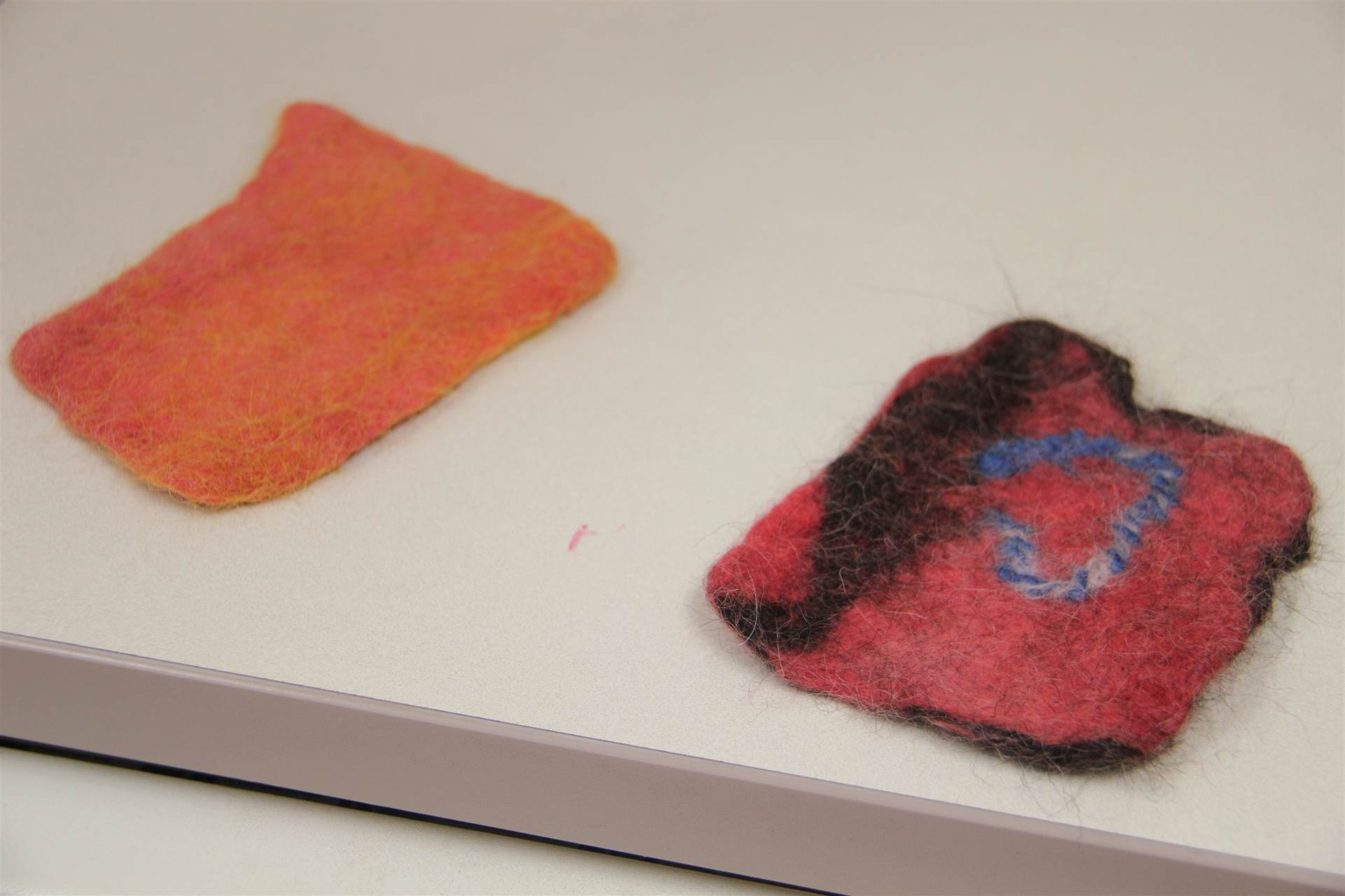 more examples of felt created by c v summer steam students