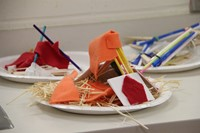 examples of three little pigs challenge houses made of various objects
