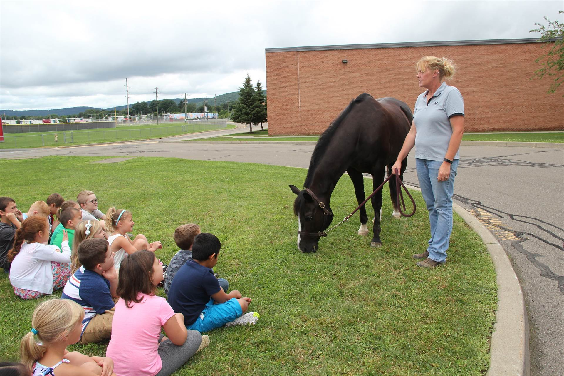 tiger the horse visits cv summer steam program
