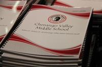 middle school student agenda close up