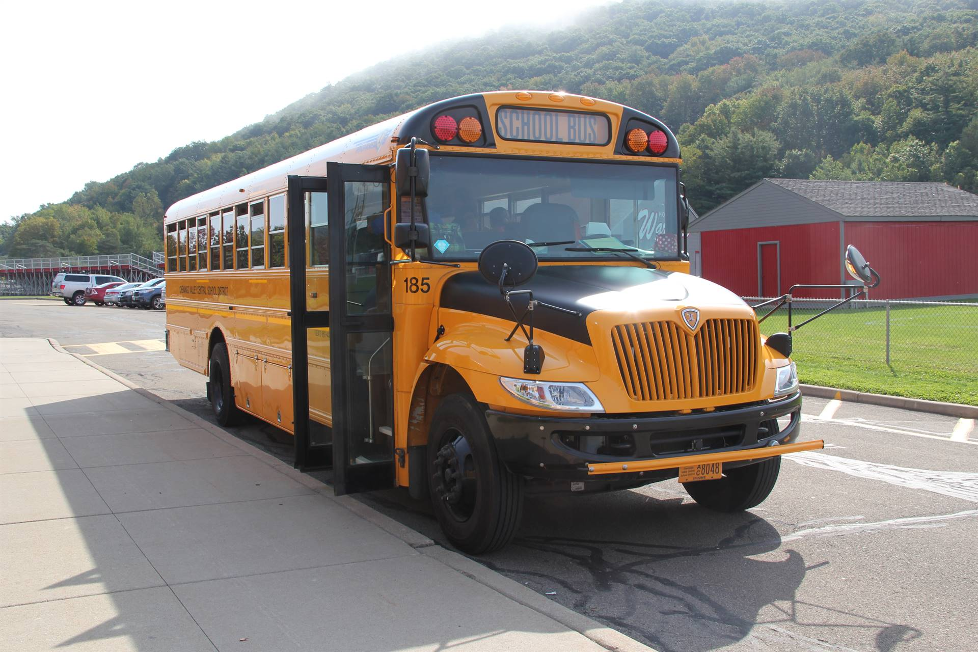 chenango valley school bus