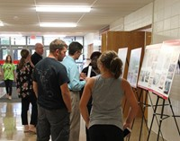people discuss proposed chenango valley capital project that will go to vote in december