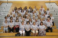 group photo of chenango bridge elementary staff
