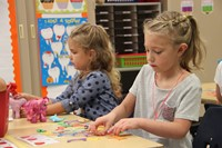 students create on first day of school
