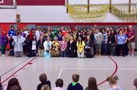 teachers in halloween costumes