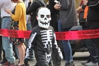 student dressed in halloween costume