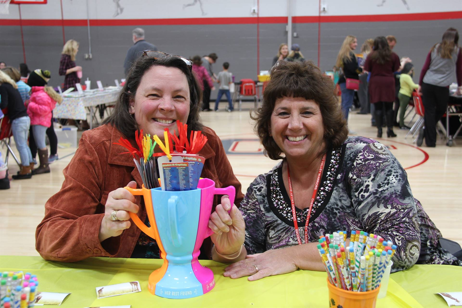 principals at welcome table
