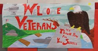 welcome veterans sign
