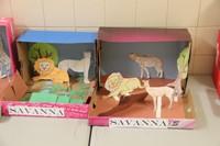 savanna habitat shoe boxes completed