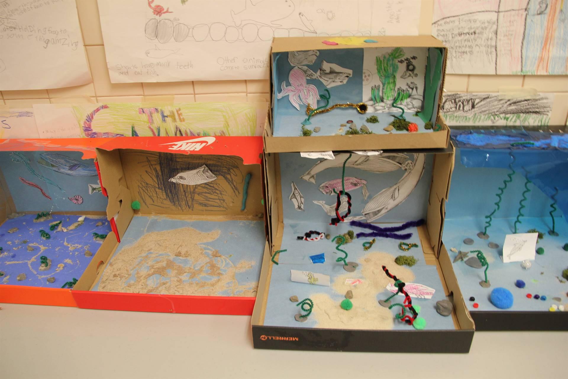 Ocean habitat project images for Habitat container