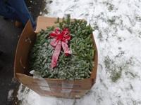 wreath in box