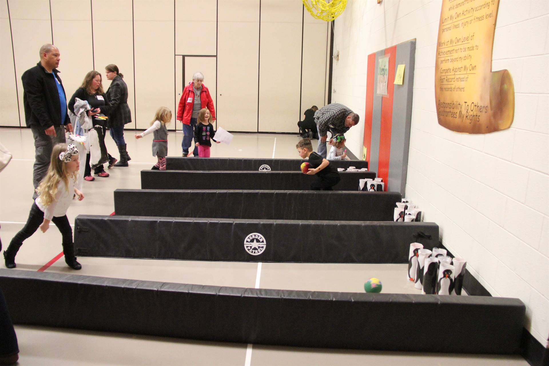 additional students bowling