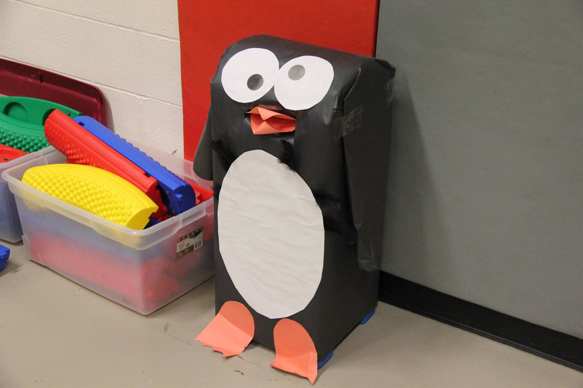 penguin made from paper