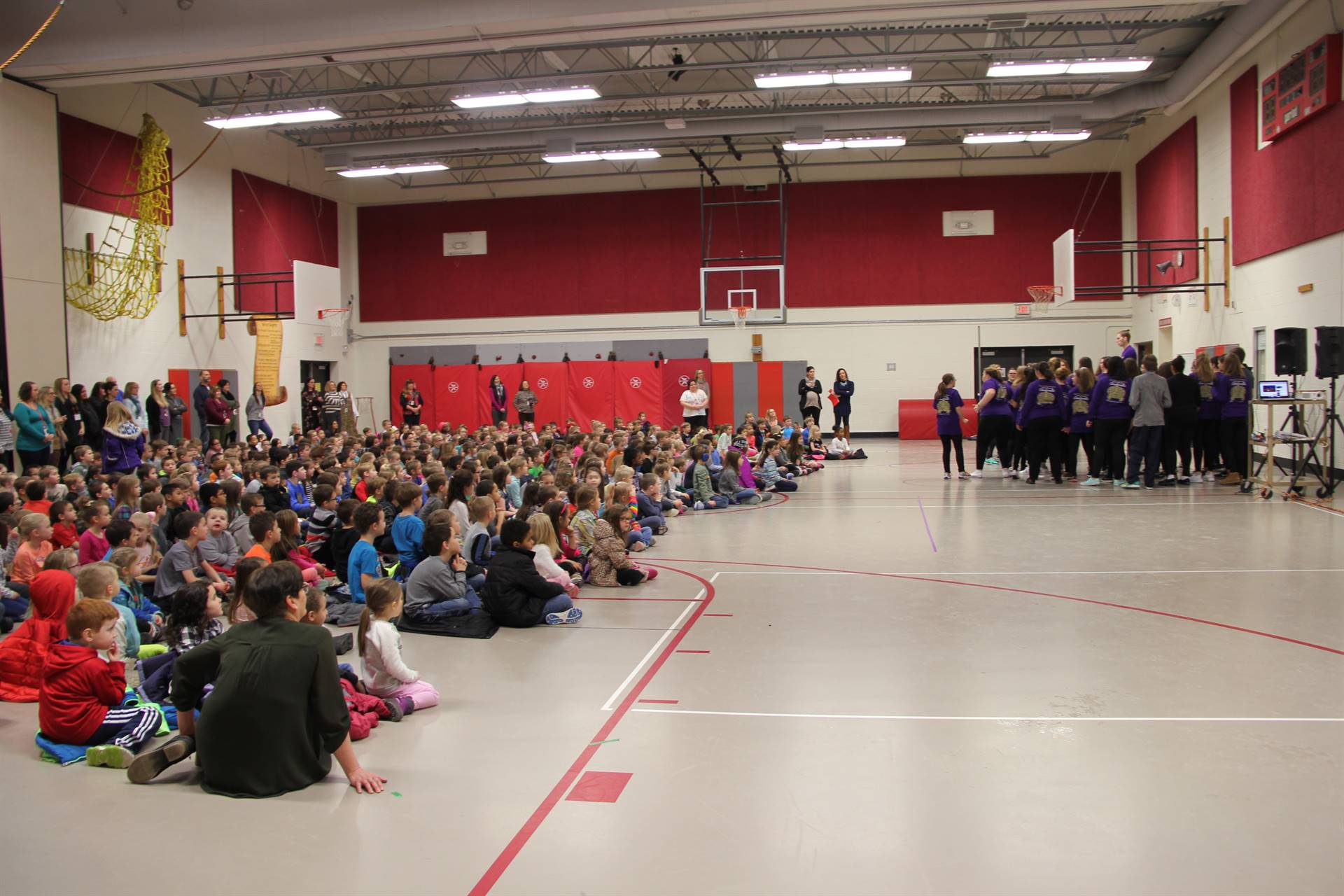 Cinderella cast visits Port Dickinson Elementary 8