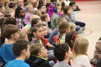 Cinderella cast visits Port Dickinson Elementary 7