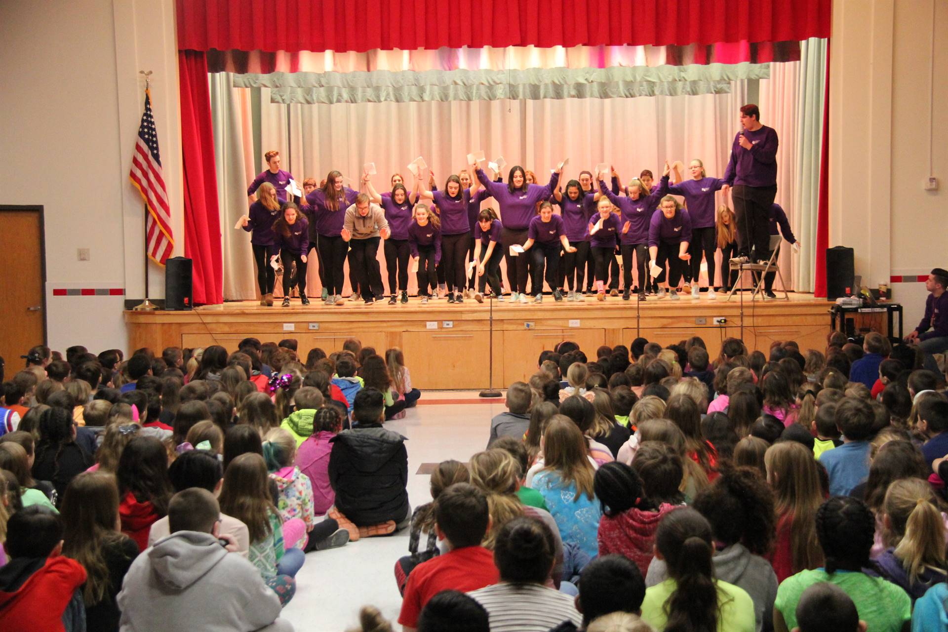 Cinderella Preview Performance at Chenango Bridge Elementary 10