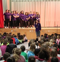 Cinderella Preview Performance at Chenango Bridge Elementary 12