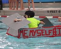 Middle School Cardboard Boat Races 53