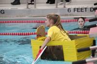 Middle School Cardboard Boat Races 43