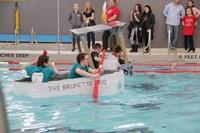 Middle School Cardboard Boat Races 33