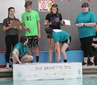 Middle School Cardboard Boat Races 27