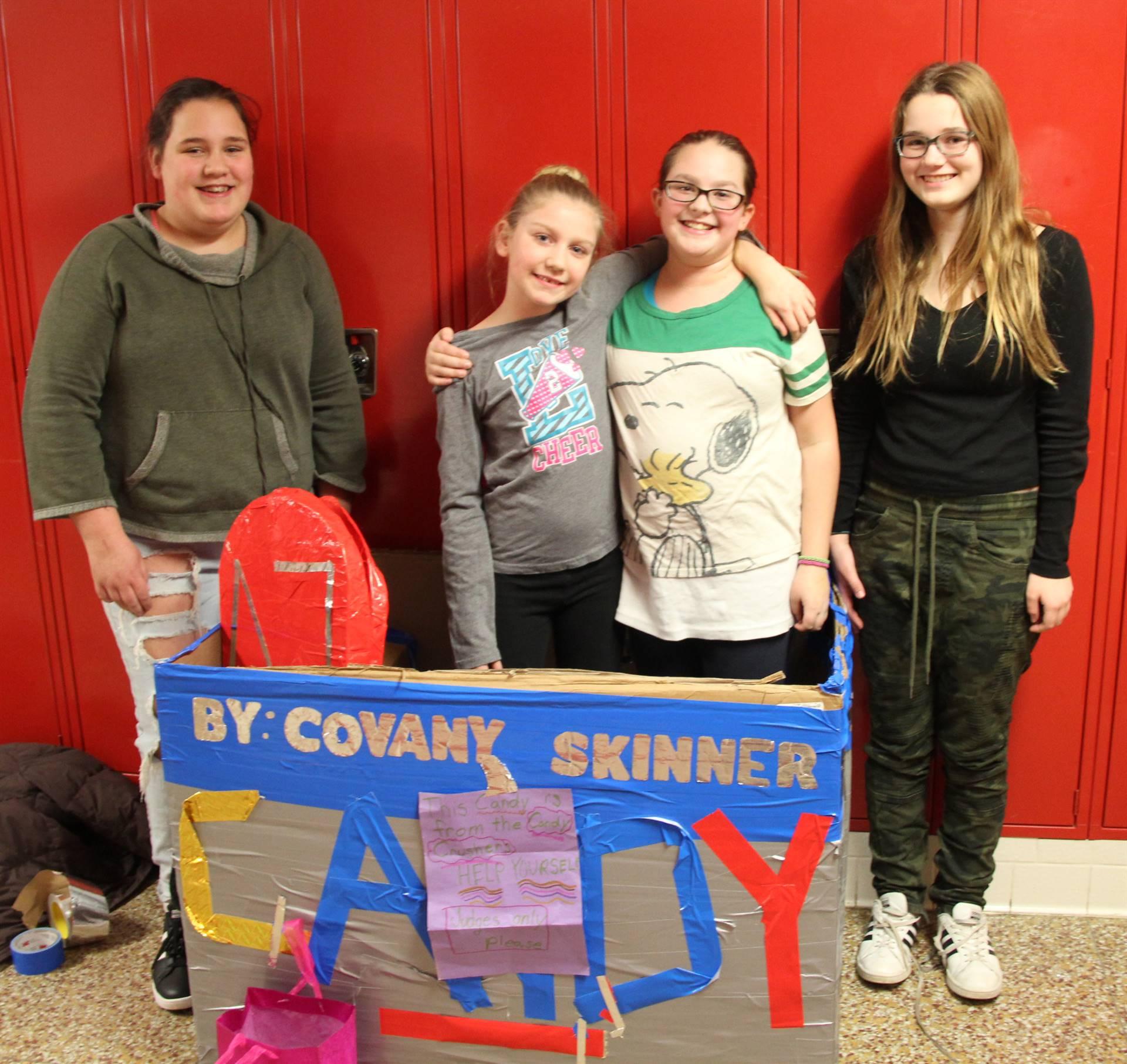 Middle School Cardboard Boat Races 8