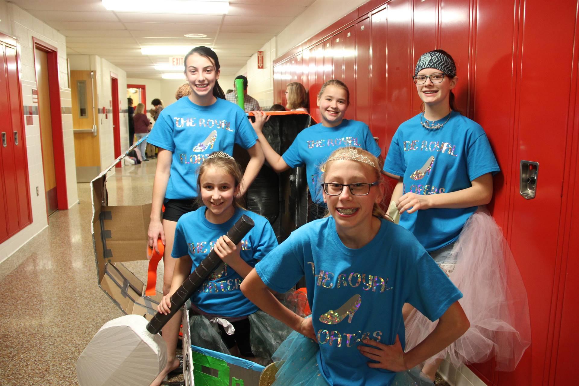 Middle School Cardboard Boat Races 6