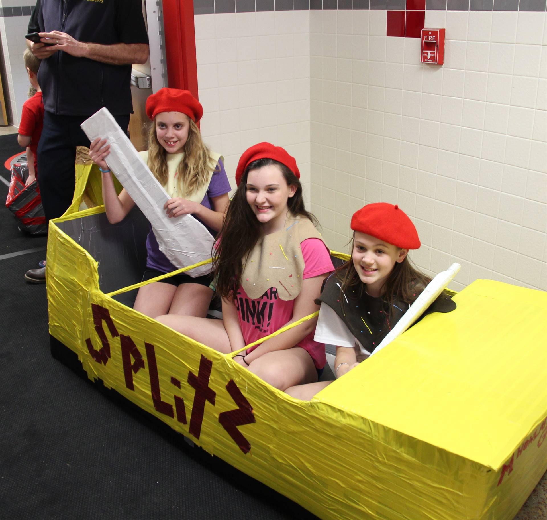 Middle School Cardboard Boat Races 2