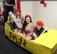 Middle School Cardboard Boat Races 2