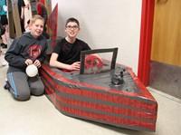 Middle School Cardboard Boat Races 15