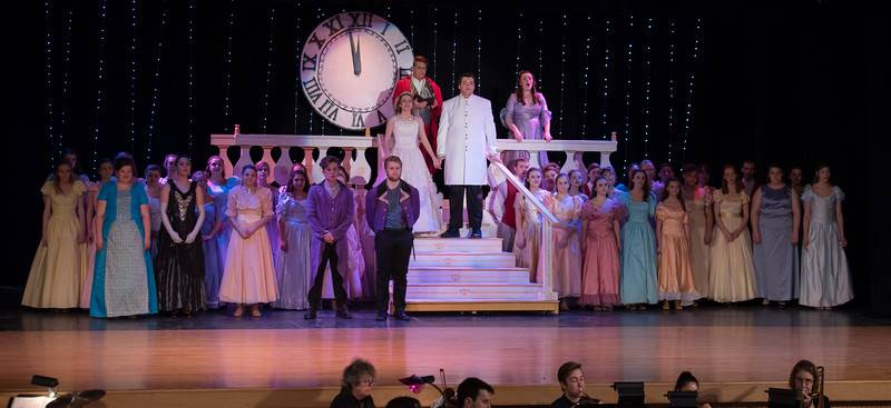 cinderella cast performing 10