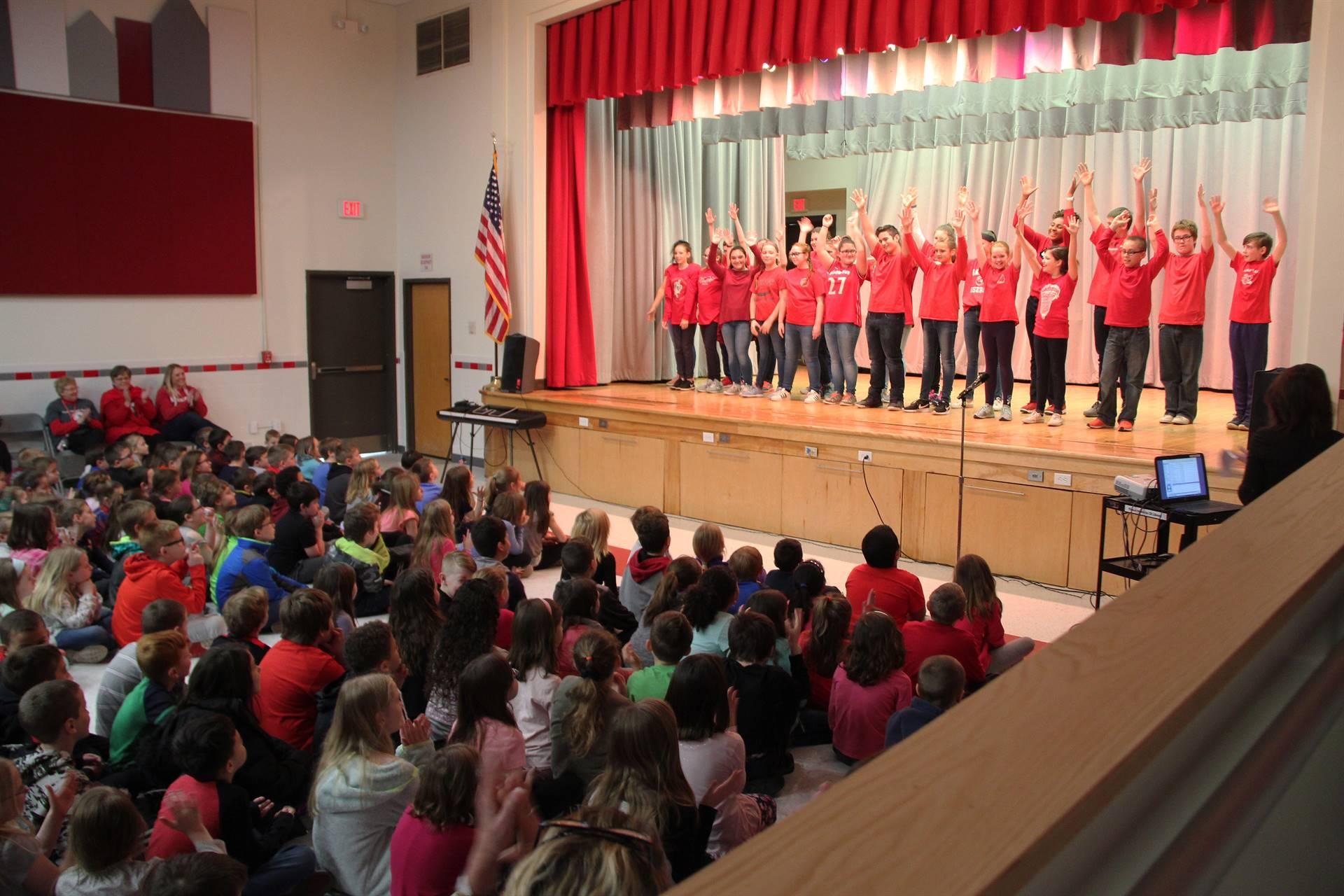 sneak preview performance at chenango bridge elementary 13