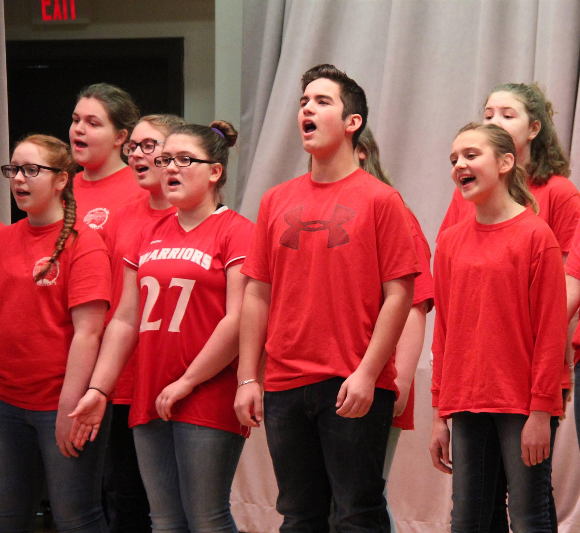 sneak preview performance at chenango bridge elementary 11