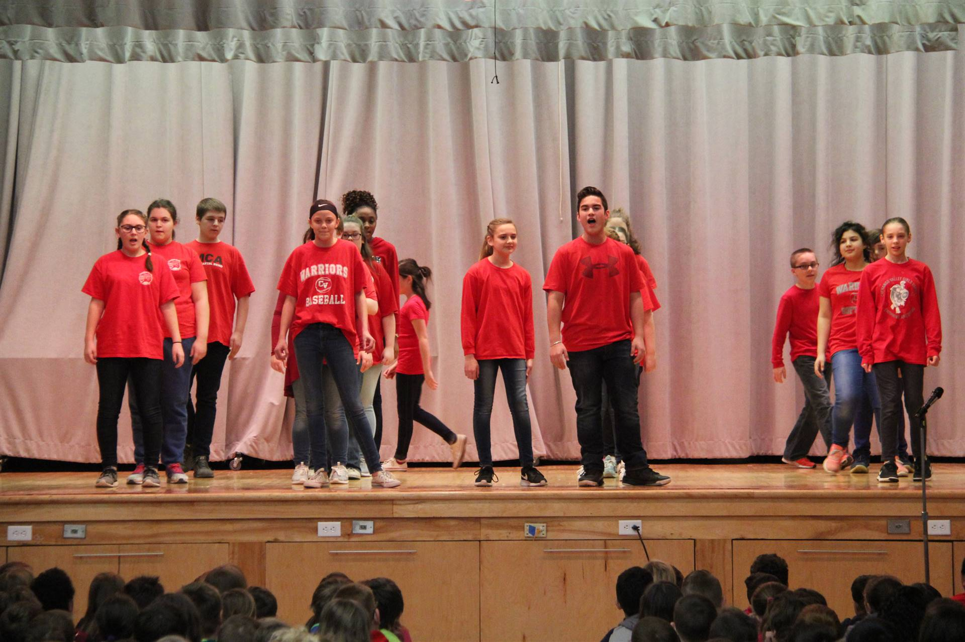 sneak preview performance at chenango bridge elementary 2