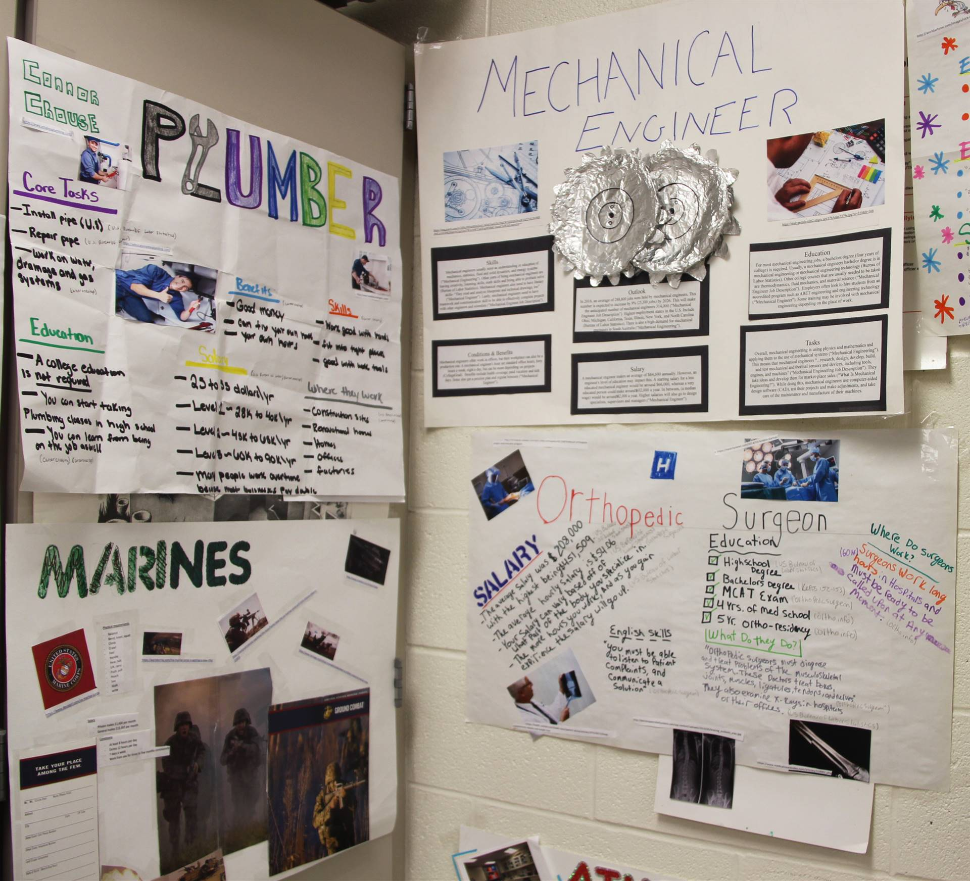 career research projects 4