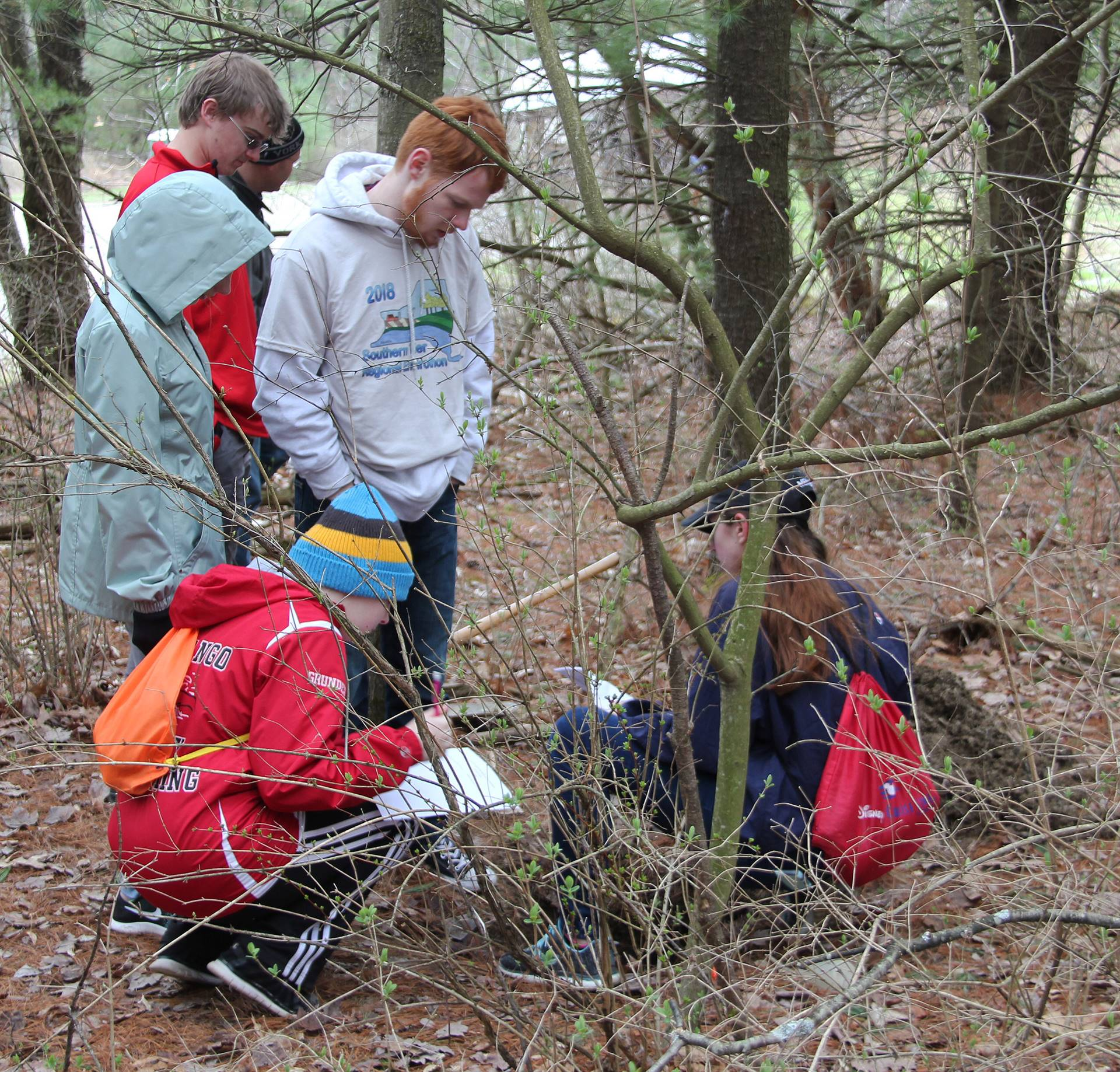 students participating in envirothon 11