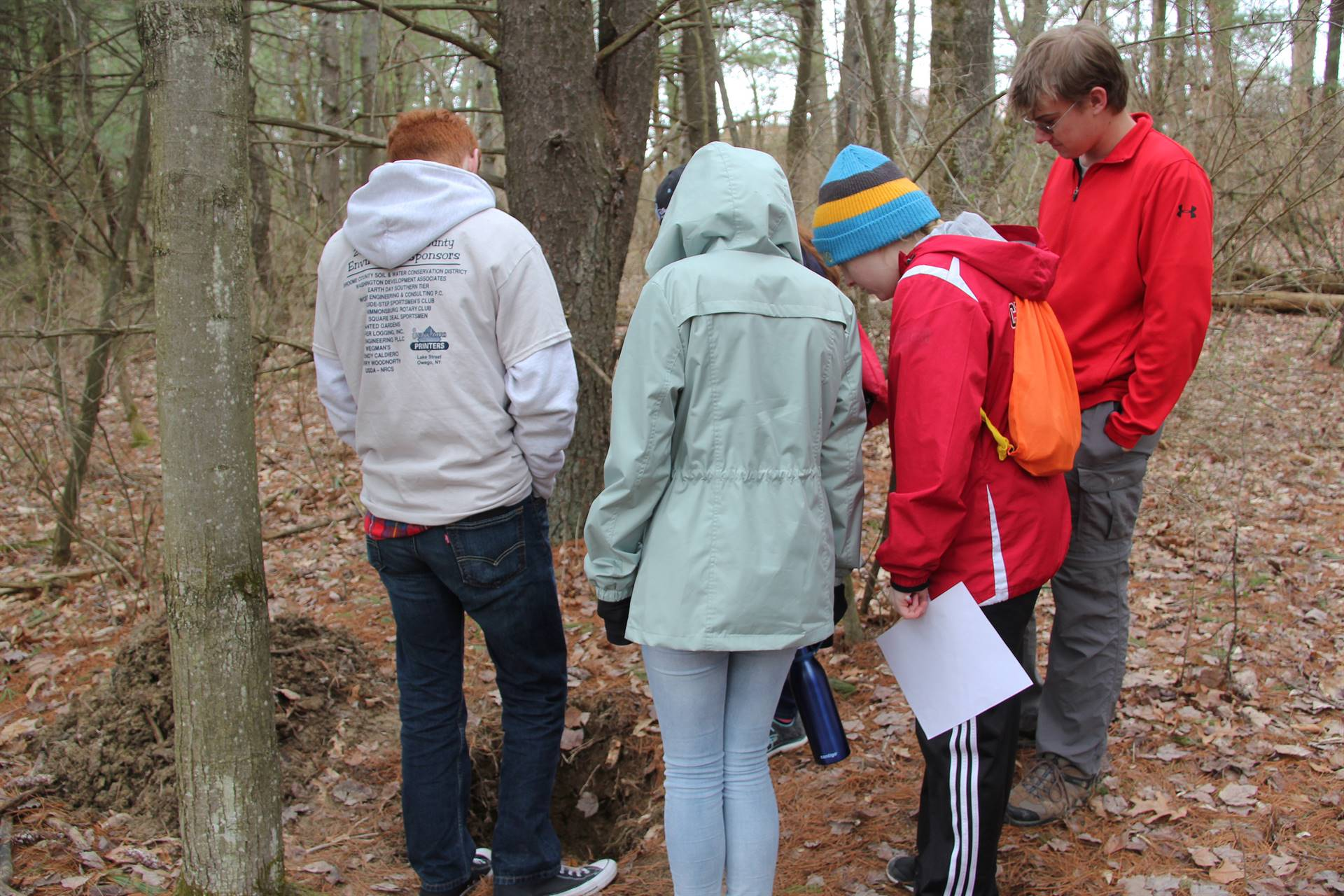 students participating in envirothon 10