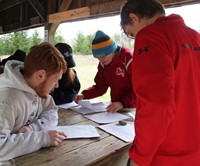 students participating in envirothon 7