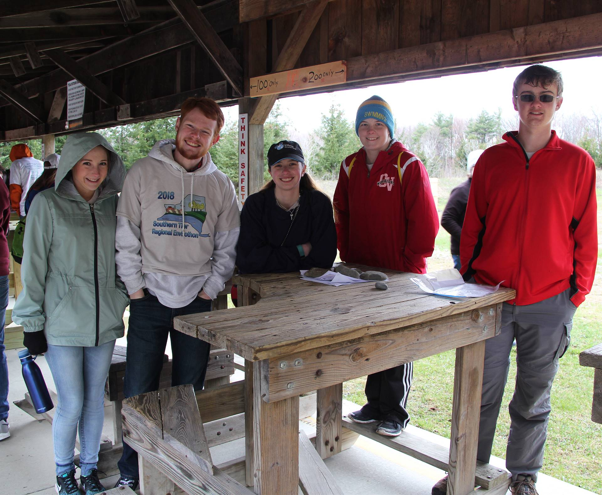 students participating in envirothon 6
