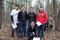 students participating in envirothon 4