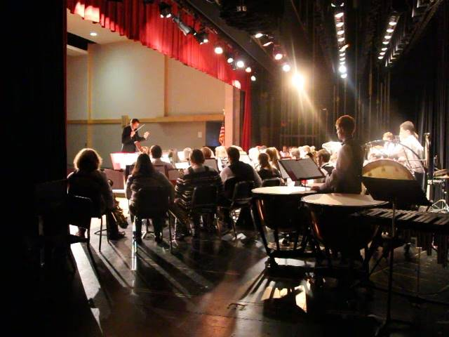 behind the scenes of band performance
